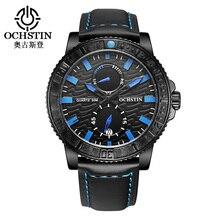 2016 Новый Оригинальный Ochstin Мужчины Кварцевые Часы Reloj Hombre Известная Марка Бизнес Водонепроницаемый Спортивные Часы Часы Наручные Часы Подарок