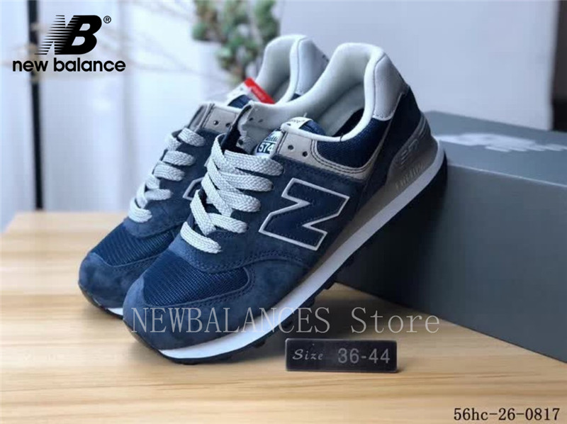 New Balance Classic 574 Men and Women Shoes ML574EGN ENCAP Cushioning Combination Soft Bottom Sneaker Badminton Shoes 36-44 574 classic