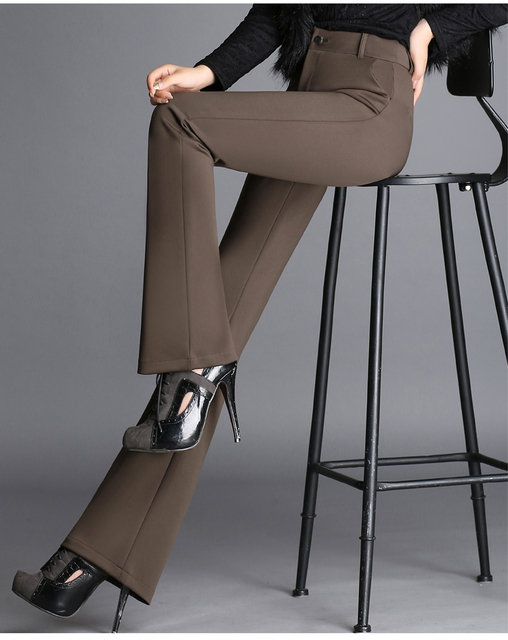 2016 осенне-зимней моды Случайные плюс размер Стрейч Микро-динамик женские женская одежда брюки брюки
