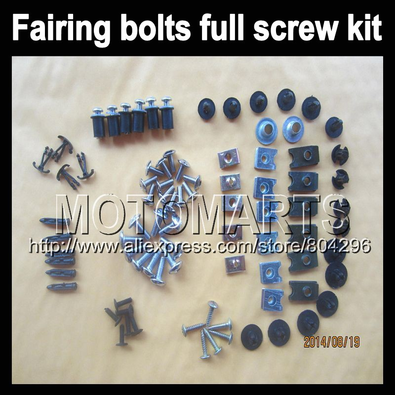 ФОТО Fairing bolts full screw kits For HONDA CBR250RR MC19 CBR 250RR CBR250 RR 86 87 88 89 1986 1987 1988 1989 Nuts bolt screws kit