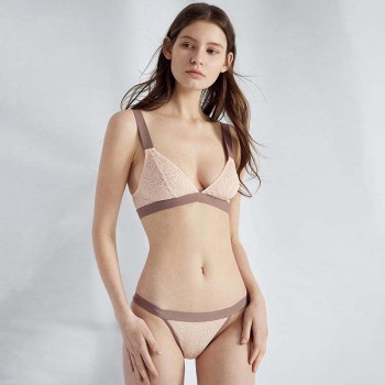 TERMEZY Intimates Lace Ultrathin Transparent Lingerie Set