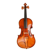Professional Handmade 4/4 Full Size Acoustic Violin Fiddle Kit Solid Matte Finish ebony violin TL001-4 5 years wood made