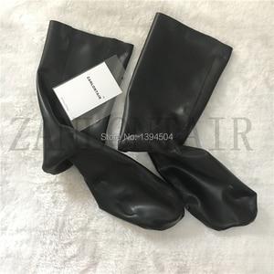 Image 4 - Top Fashion Vrouwen Mannen Unisex handgemaakte Lingerie Sexy Korte Sockings Latex Sokken Fetish Kousen Gratis Verzending XS XXL