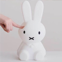 Meaningsfull Cute Cartoon Led Rabbit Night Light USB Children Slicone Animal Baby Nursery Lamp Breathing Night Lamp Dropshipping