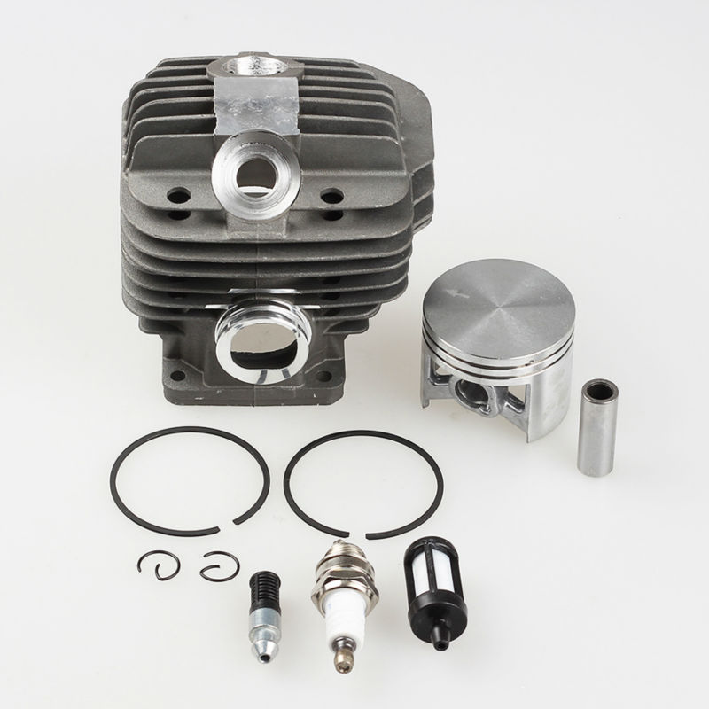 50mm Cylinder Piston Kit +Fuel filter +Spark plug+Oil pump for Stihl Chainsaw 044 MS440 MS 440 * 1128-020-1227  цены