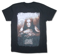 OKOUFEN Ozzy Osbourne All The Jewelry Pic Black T Shirt New Official T Shirt Custom Online