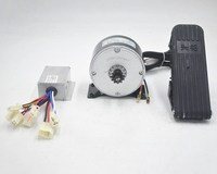 24V 250W electric Brushed Motor Electric Scooter DIY 250W Motor Kit E bike Engine High Speed MOTOR With 11 Tooth Sprocket