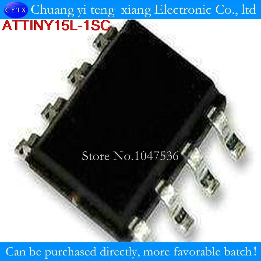 TINY15L TINY15L-ISC TINY15L-1SC TINY15 SOP8 10 шт./лот 100% новый 8-битный микроконтроллер AVR с 1K байтовой вспышкой