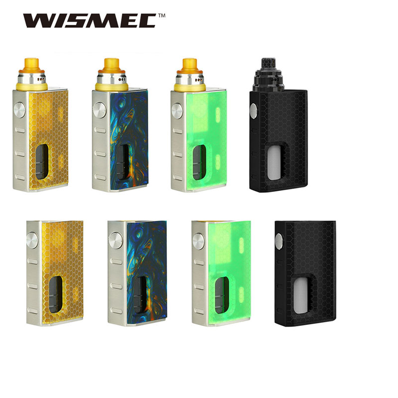 In Stock WISMEC Luxotic BF Box MOD W 7 5ml Refillable Bottle for Tobhino BF RDA
