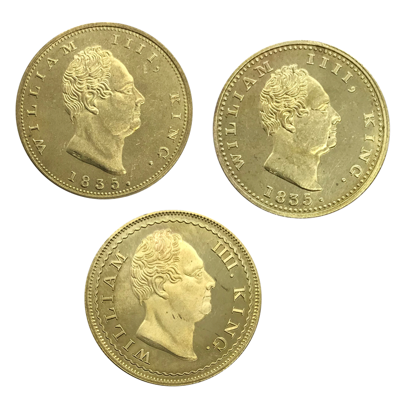 British India 1835 Gold Coin 1 One Mohur And 2 Two 3 Pcs A Package Sold Collectibles Br Copy In Non Currency Coins From Home Garden On