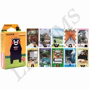 Image 2 - FujiFilm 10 tấm Ngôi Sao SỌC BẢN gọng Đen Minion Tức Thì Bộ Phim Giấy in ảnh cho Instax Mini 8 9 11 7S 25 50S 90 SP 1 2