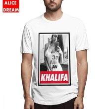 For Male Mia Khalifa T Shirt Hip Hop Tee Organic Cotton Free Shipping hop shirt Sexy girl Tees Birthday GIft