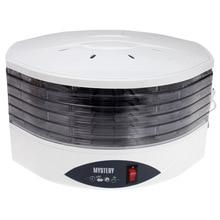 Сушилка электрическая MYSTERY MDH-322 (Мощность 250 Вт, 5 секций, объем 9 л, индикатор питания, регулировка температуры 40-70°С)