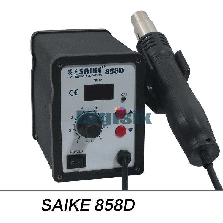 ФОТО SAIKE858D hot air gun significant number of free desoldering station free shipping