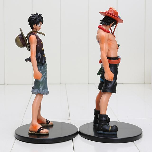 Luffy + Ace Figures Set