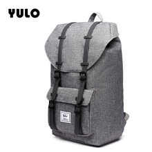 YULO Men Backpack Waterproof Back Pack Designer Backpacks Male High Quality Unisex Nylon bags Shoulder Bags Computer Packsack(China)