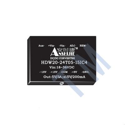 Free shipping    DC-DC power module HDW15-12D15C4Free shipping    DC-DC power module HDW15-12D15C4