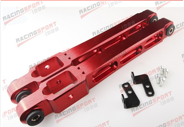 все цены на RED Rear Aluminium Racing Lower Arm Control for Mitsubishi EVO 1 2 3 4G63 онлайн