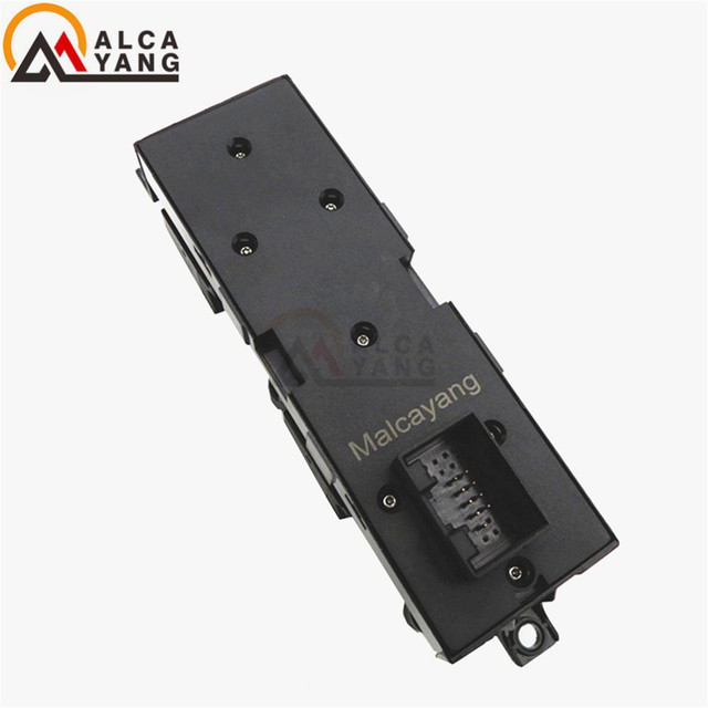 Malcayang 1J4959857A Master Power Window Switch for VW Golf MK4 Bora Seat Skoda Octavia MK1 RED Led 1J4 959 857A 1J4 959 857 A