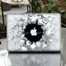 Cracking Wall Laptop Sticker Full Cover Skin for Apple MacBook Air/Pro/Retina 11″ 13″ 15 Computer Protective Notebook Case Decal