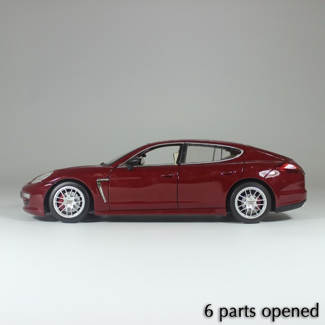 Adult/Child Alloy Toys Car Model 1/18 collection Car 6 Parts Open Diecast Car Model