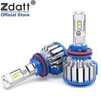 2Pcs Super Bright H8 H11 Led Headlight 70W 7000lm Auto Front Bulb 6000k White Hight Power