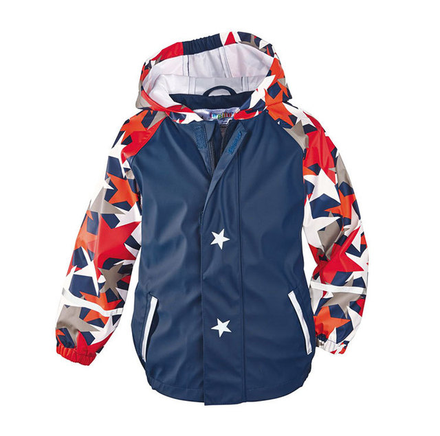 Autumn Children Jackets Outdoor Boys PU Jacket Windproof Waterproof Girls Ski Jacket Kids Raincoat 3-9Years
