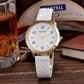 KEZZI Моды Люксовый Бренд Часы Женщины Одеваются Наручные Часы Кожаный Ремешок Наручные часы Часы Relojes Mujer Relogios Feminino Часы
