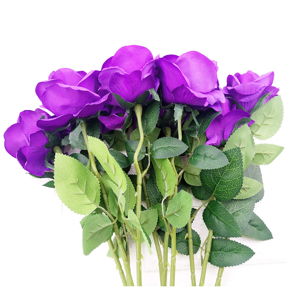 1pc Silk Roses Artificial Flowers Wedding Decoration Fake Flowers