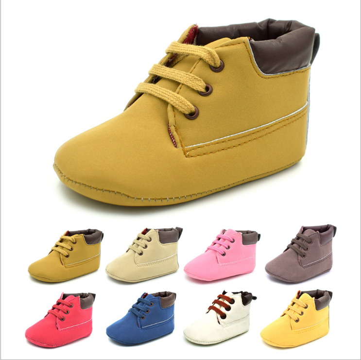 Newborn Baby Girl Infant Toddler Baby Girl Children Infant First Walkers Crib Casual Prewalkers Bright Cross-tied Shoes Cack