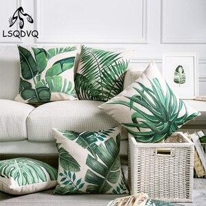 Tropical Green Plant Palm Leaf