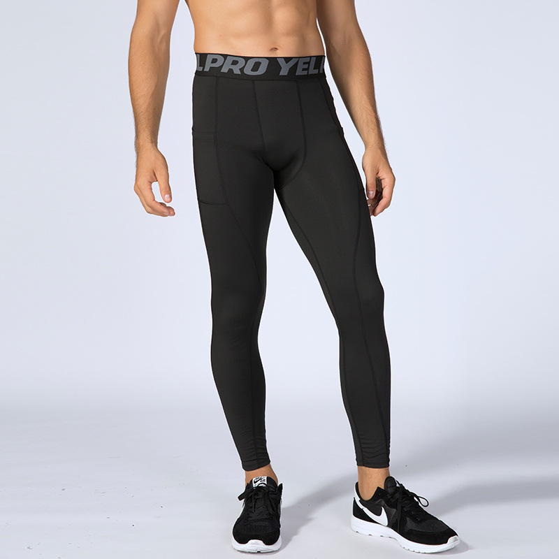 Mens Compression Solid Shorts Baselayer Pants Training Underwear Tights Trousers