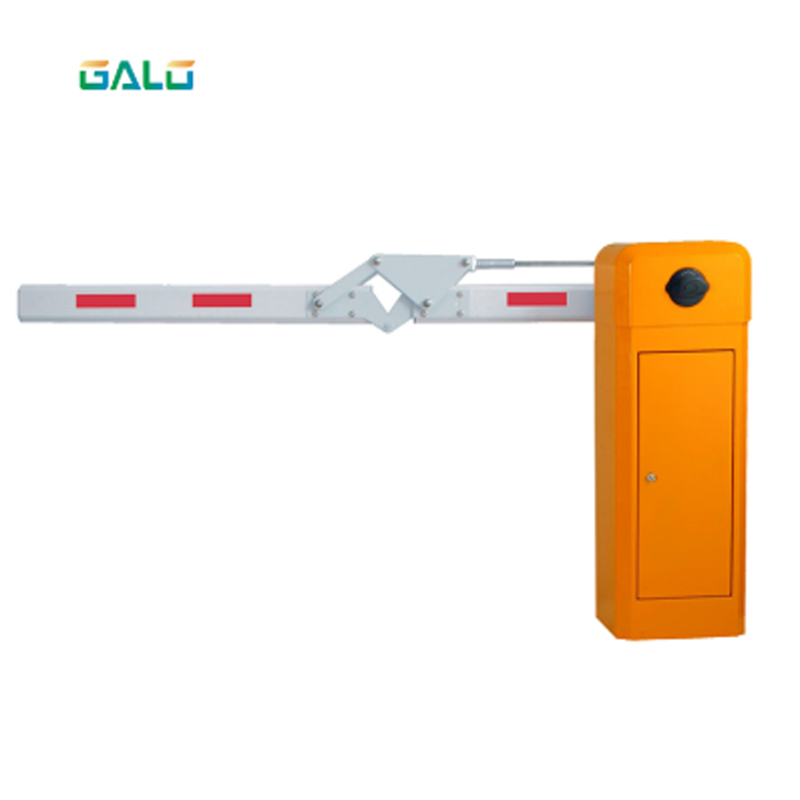 90 Degree Road Safety Folding Car Parking Barrier Gate For Parking Lot System