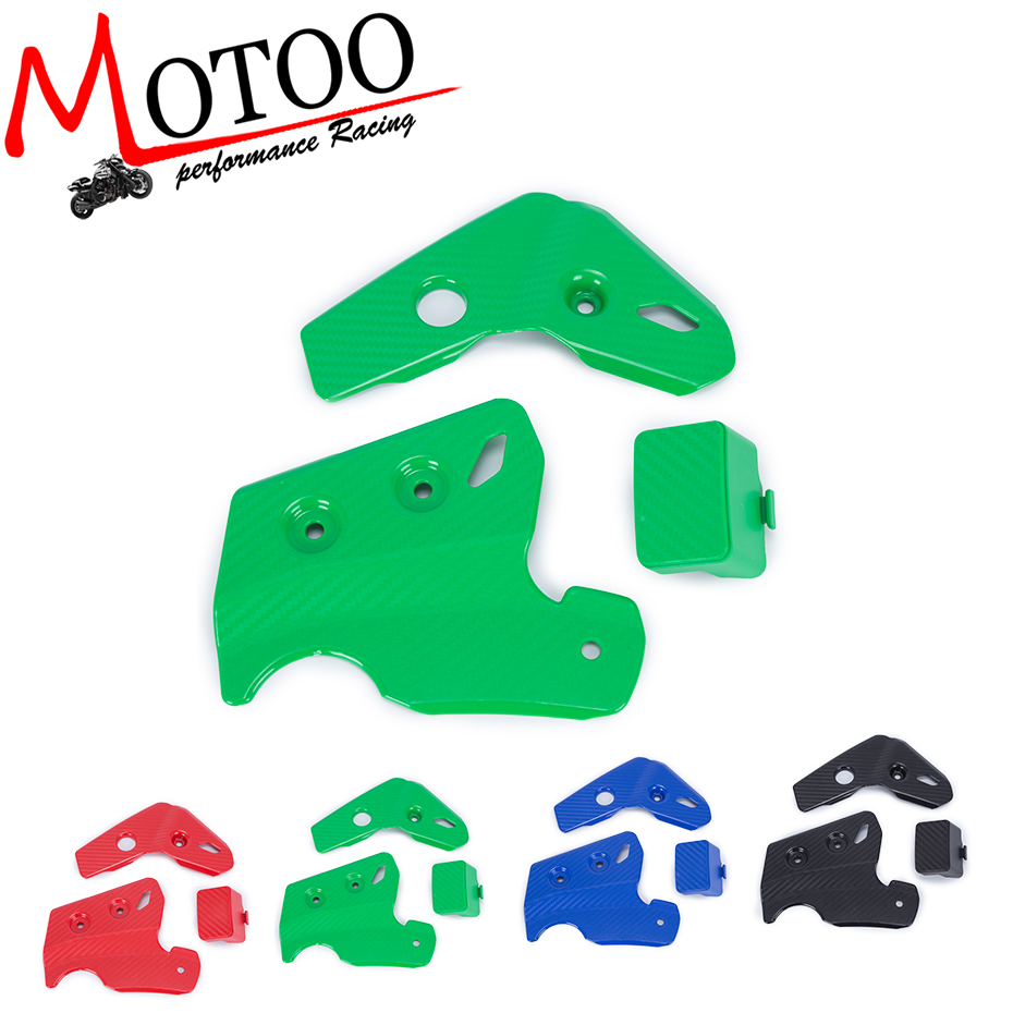 Motoo - Motorcycle Frame Guards Cover For Kawasaki KLX250 D-Tracker 1993-2016 2007 2006 2005 2004 2003 2002 2001 2000 1999 эско мауно скутеры 1993 2002 гг