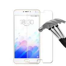 zero.26mm Explosion-proof Entrance LCD Tempered Glass Movie for Meizu U20 Display screen Protector pelicula de vidro with clear instruments