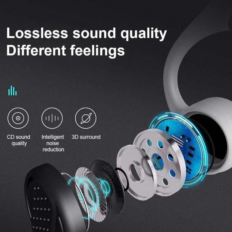 New Car Bluetooth Handfree Kit Bluetooth 5 0 S Wear Z8 Wireless Bone Conduction Earphone Headset with Microphone Headsets in Bluetooth Car Kit from Automobiles Motorcycles
