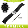 Silicone Watchband 18mm 20mm 22mm 24mm for Tissot 1853 T035 PRC200 T055 T097 Watch Band Rubber Strap Wrist Belt Bracelet + Tools