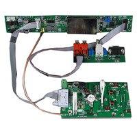 Kit de Transmisor estéreo FMUSER 1KW PCB kit con pantalla LED