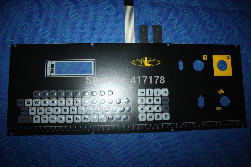 Lonati L411P-7 harisnya gépekhez használt billentyűzet 0430041 / Loanti billentyűzet 0430041
