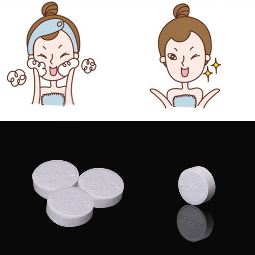 Outdoor Travel Mini Portable Face Care Cotton Compressed Towel Disposable Towels