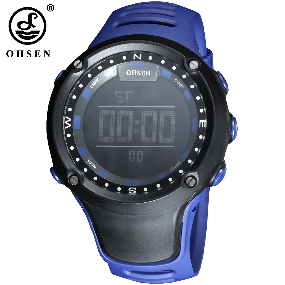 NEW OHSEN Men Sports Watch Alarm Date Day Stopwatch LED Digital Watch Men Male Military Waterproof Wristwatch Relogio MasculinoNEW OHSEN Men Sports Watch Alarm Date Day Stopwatch LED Digital Watch Men Male Military Waterproof Wristwatch Relogio Masculino