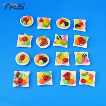 Teraysun 10pcs architecture model making dollhouse miniature food toys simulation Compote