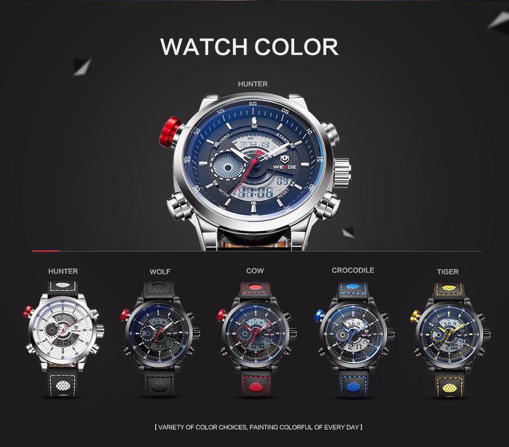 Weide WH3401 Sport Watch 3ATM Quartz Digital