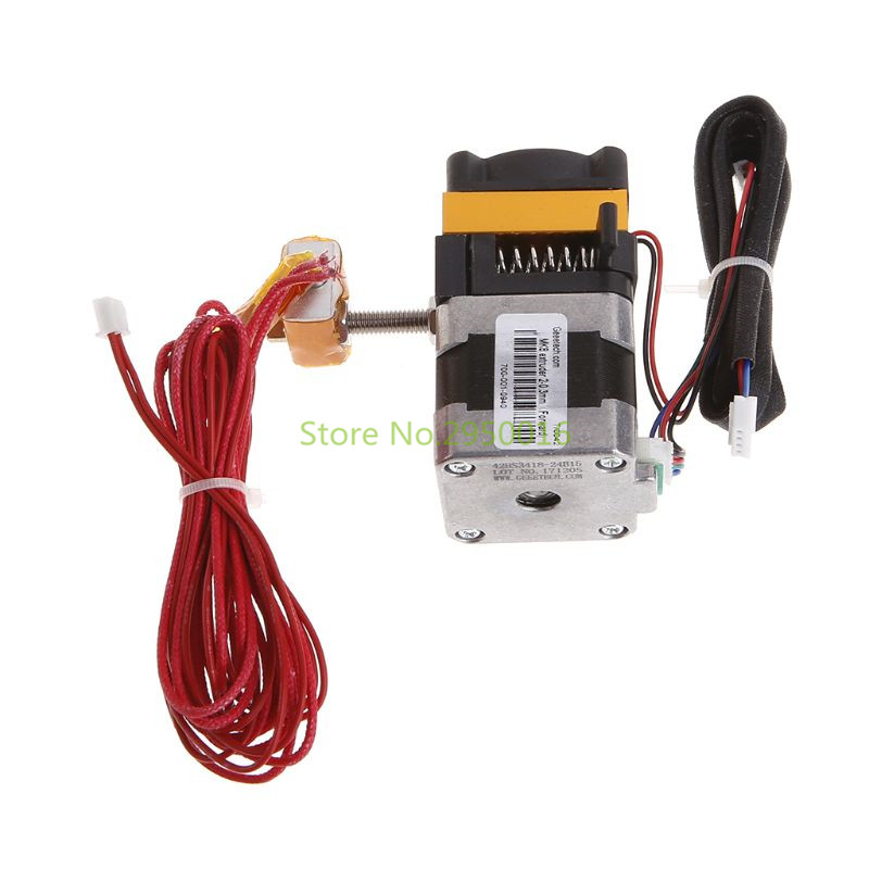 Extruder MK8 Short Distance Latest Update For 3D Printer Meter Motor Nozzle MK8 extruder kit 3d printer Accessory C26