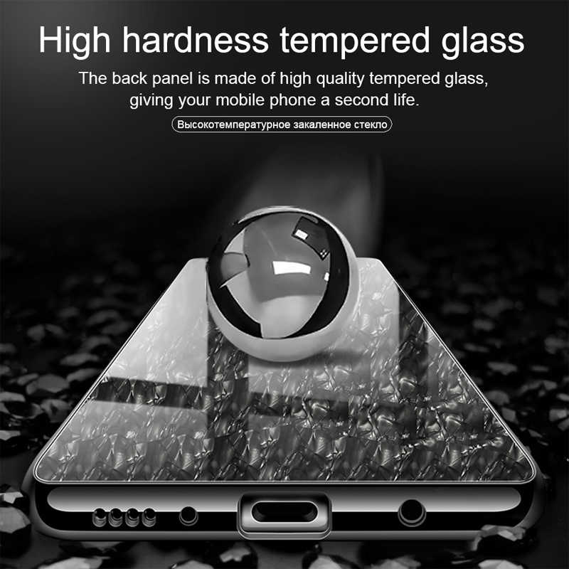 Чехол-Паттер для huawei Honor 7A Pro закаленное стекло задняя крышка Мягкий полиуретановый край силикон на Honor 7c Pro 7X8X9 Lite 10 Play