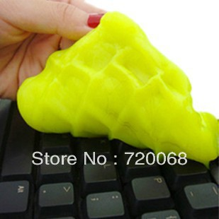 free shipping 2013 new Magic universal clean plastic magic dust plastic keyboard cleaner dust and mud