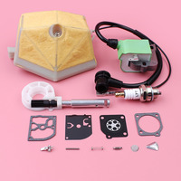 Ignition Coil Air Filter For Husqvarna 55 51 Chainsaw Replacement Part Oil Pump Carburetor Repair Kit