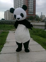 Selling panda cute panda mascot costume adult leotard free shipping