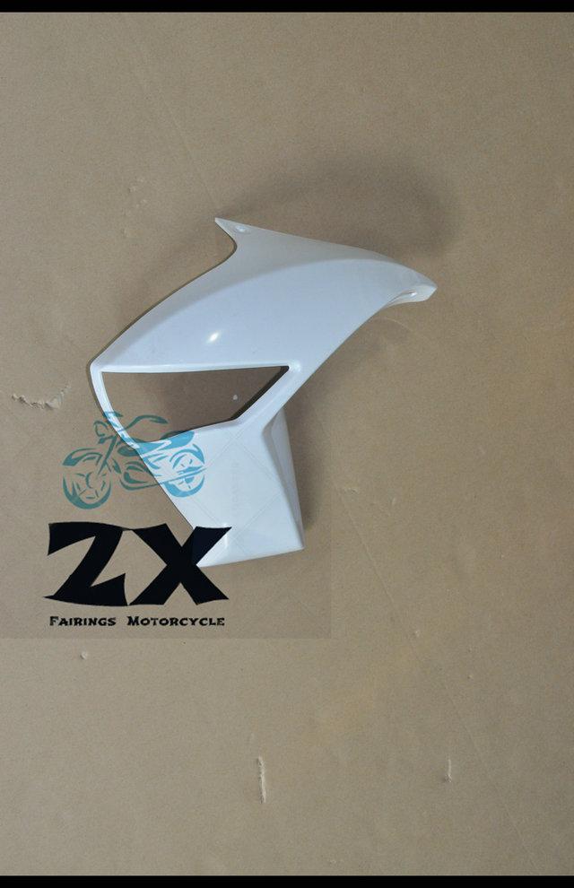 Полный Обтекатели левую боковую крышку радиатора обтекатель для Kawasaki ER6N ЕР-6Н 2009-2012 неокрашенный