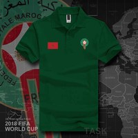 World Cup Morocco Short Sleeve Cotton Men T shirts Top National Team Sports T shirt Summer Men T shirt Tee Plus Size 14 Colors